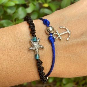 Tibetan Starfish| Anchor sailor bracelet set